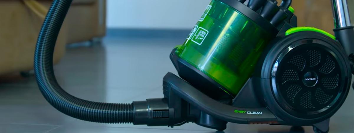 Ηλεκτρική σκούπα χωρίς σακούλα για επαγγελματική χρήση